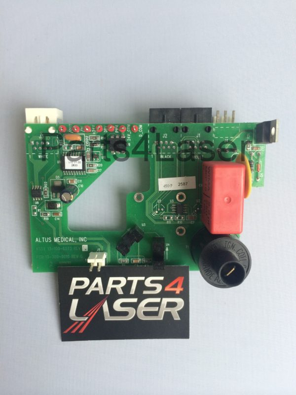 cutera xeo coolglide laser head shutter board